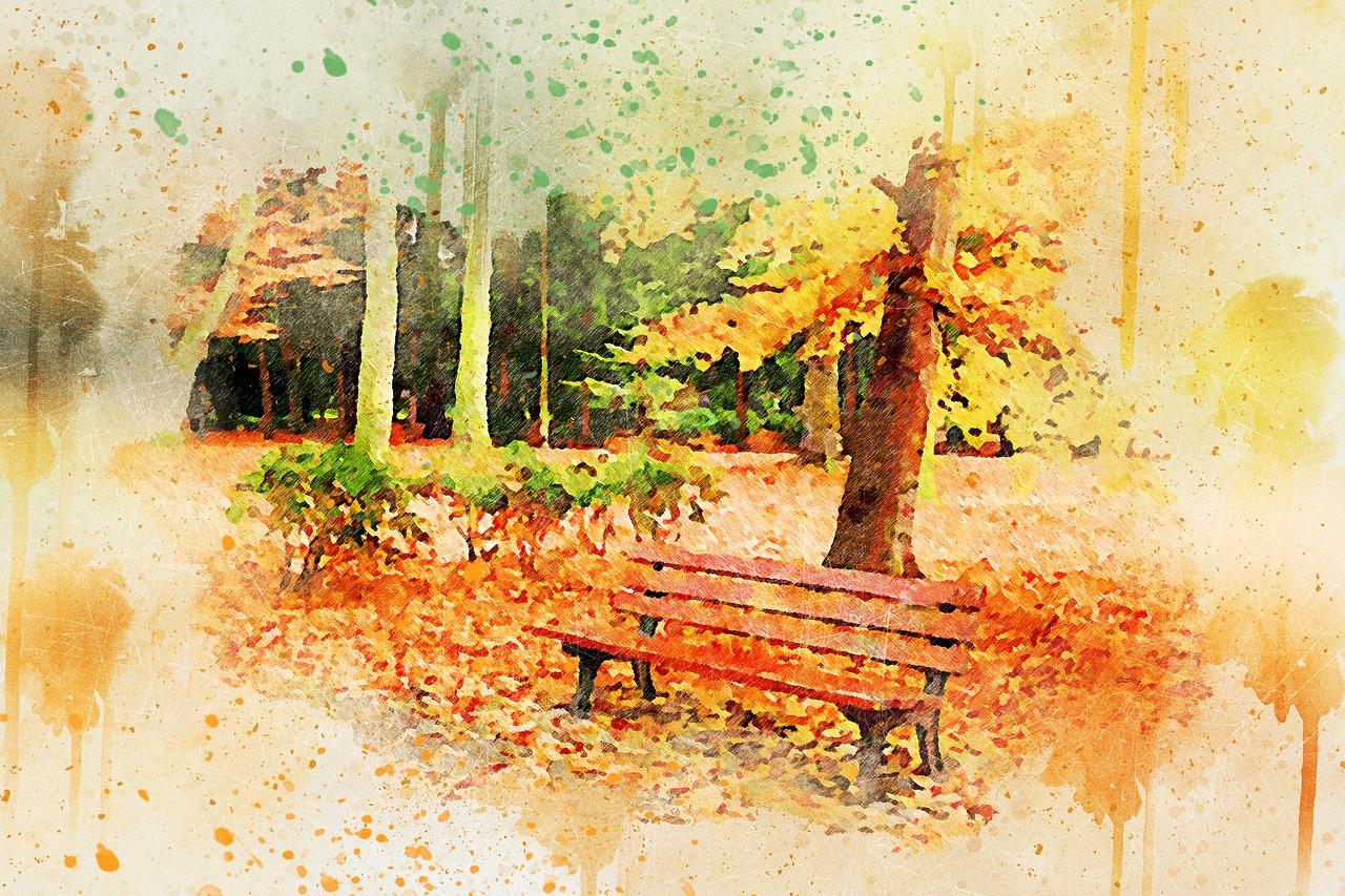 jesień bajka