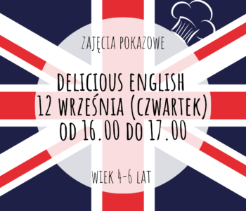 Delicious English - zajęcia pokazowe. Katowice