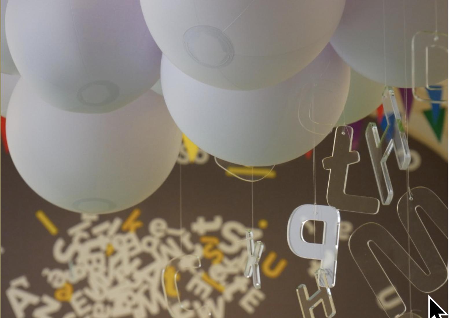 Program wydarzeń towarzyszących wystawie edukacyjnej dla dzieci Senso-litera