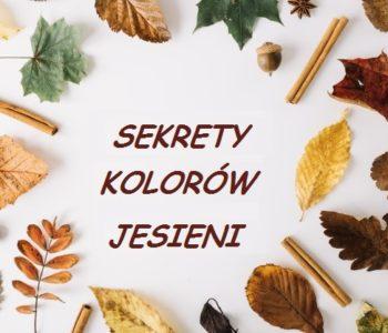 Odkrywamy sekrety kolorów jesieni - warsztaty