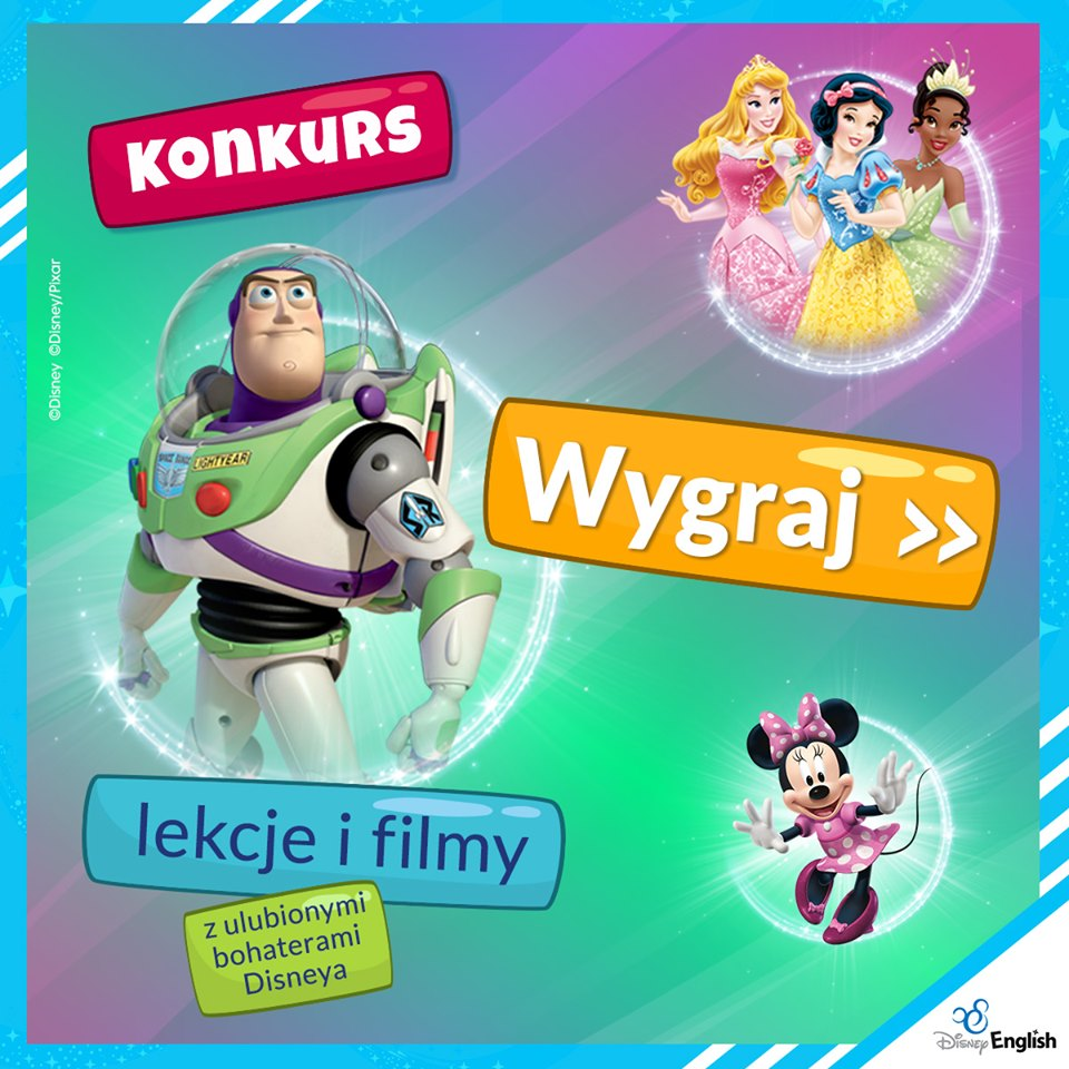 Konkurs Disney English