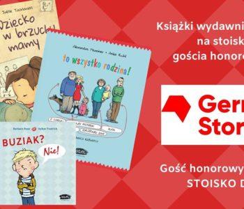 Książki wydawnictwa sam na Targach Książki w Krakowie