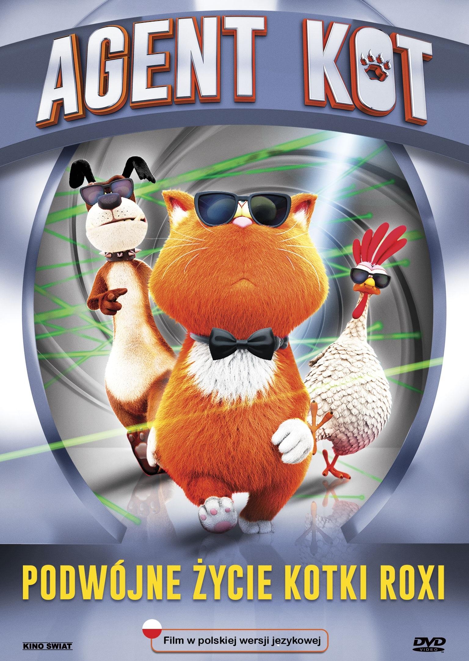 Kotka Roxi na tropie szajki złodziei w animacji Agent Kot na DVD od 24 października!