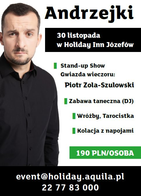 Andrzejki ze Stand Up