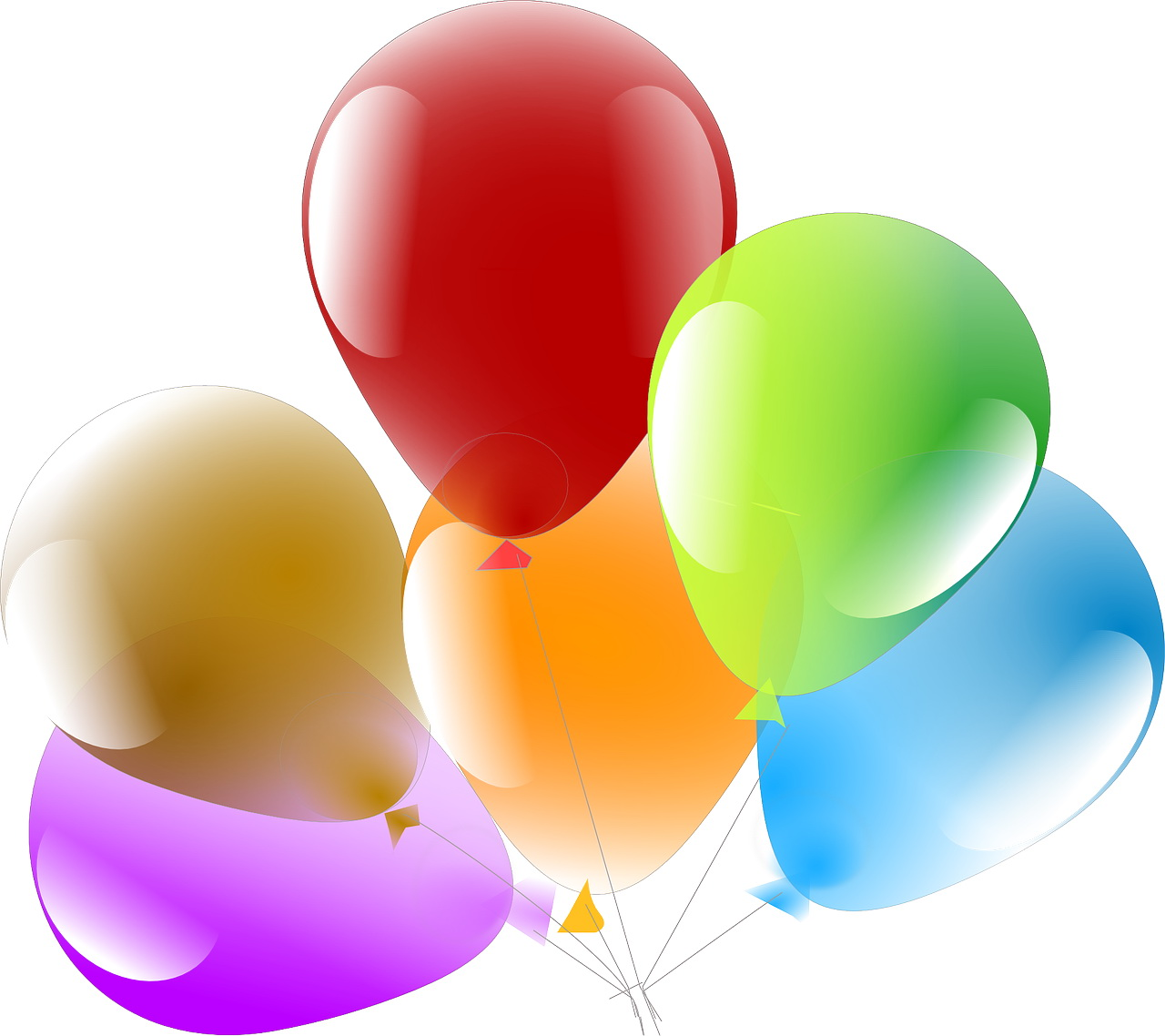 zagadka matematyczna dla dzieci o balonach