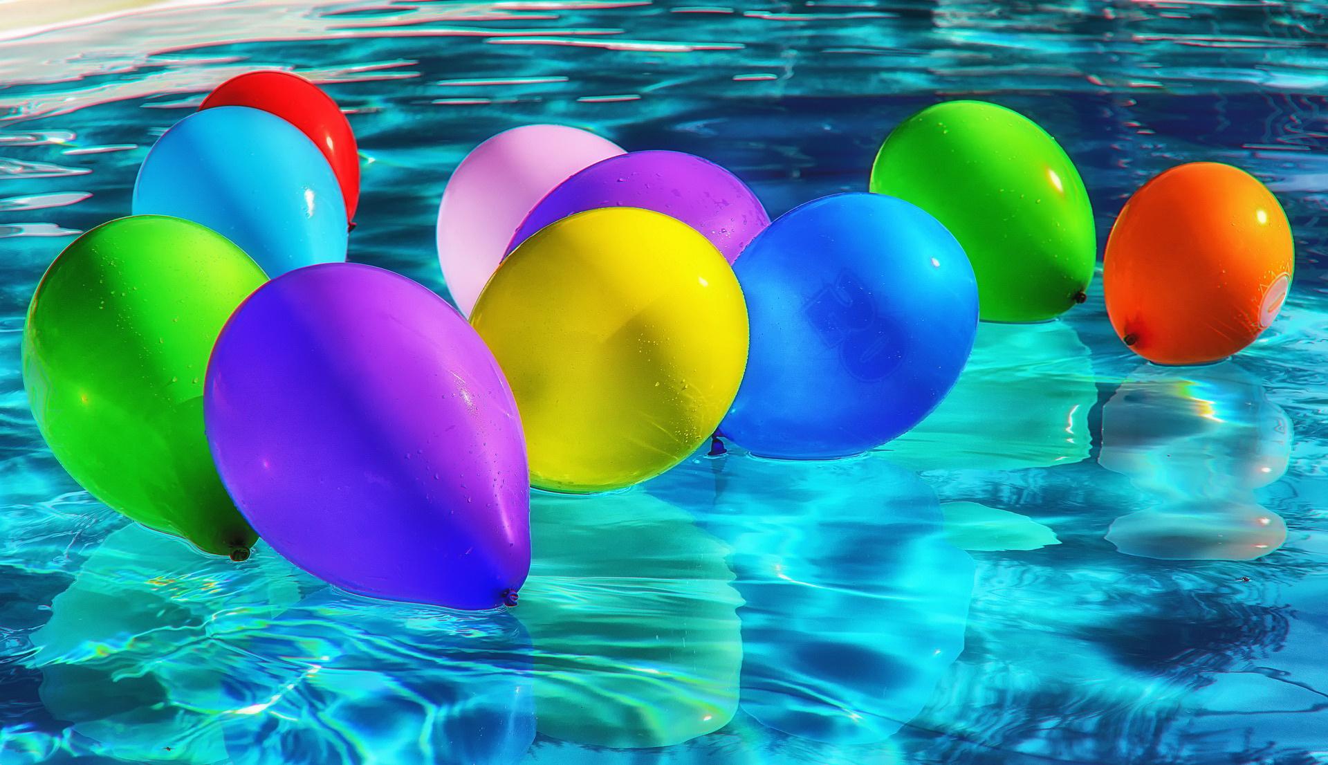 Zagadki rymowanki dla dzieci. Zgadywanka o balonach