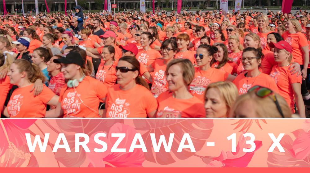 Bieg Kobiet ANITA już w najbliższy weekend w Warszawie