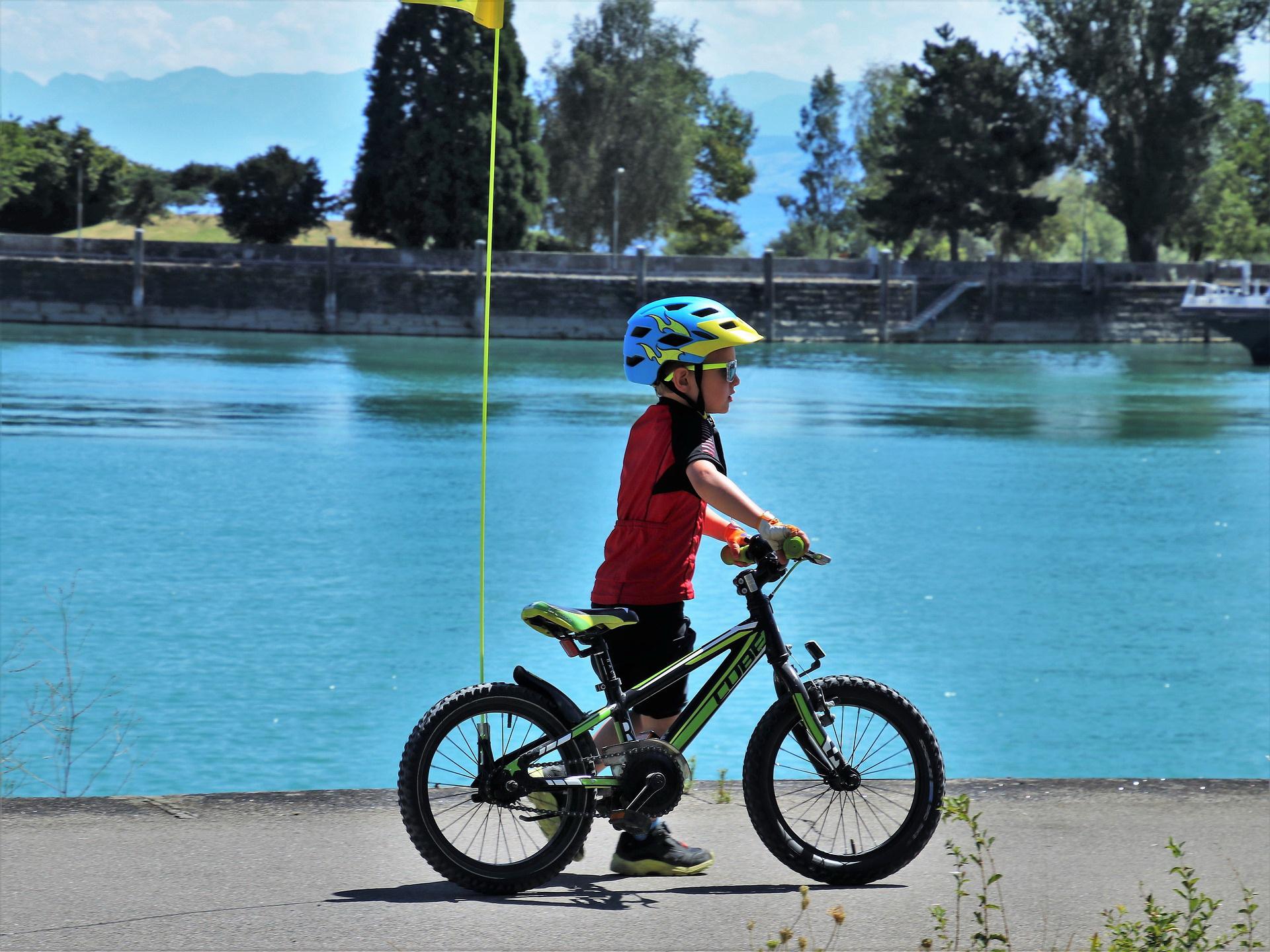 Zagadka rymowanka dla dzieci o rowerze