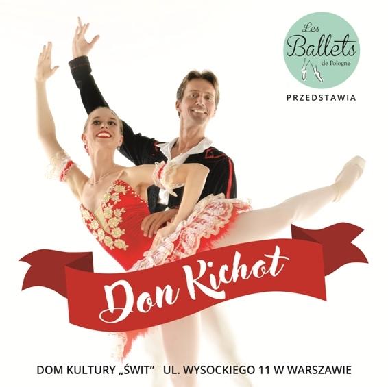 Spektakl baletowy: Don Kichot