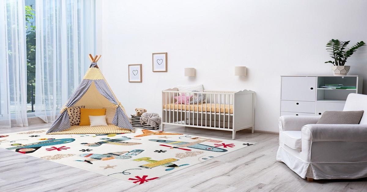 Dywan do pokoju dziecięcego: modne trendy