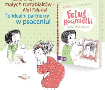 Feluś Kocimiętki poznaje babcię Groszek. Premiera książki dla dzieci