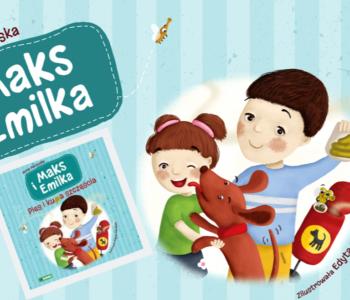 Maks i Emilka. Pies i kupa szczęścia. Premiera książki dla dzieci
