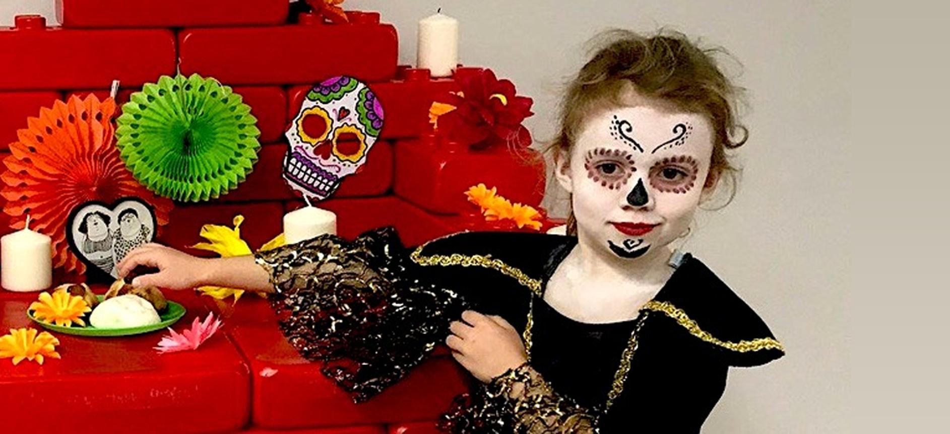 Meksykańskie Halloween w Klockowni!