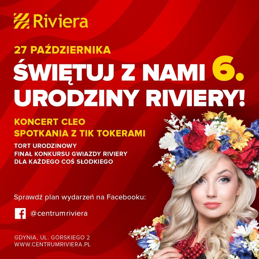 6. urodziny Centrum Riviera