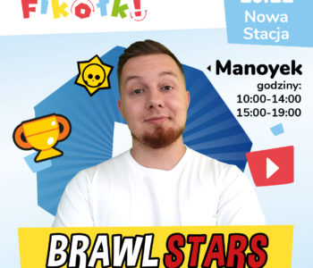 Brawl Stars z Manoykiem w Fikołkach