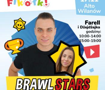 Brawl Stars z Farellem i Dżejadżejką w Fikołkach