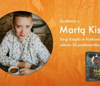 Spotkania z Martą Kisiel na Międzynarodowych Targach Książki