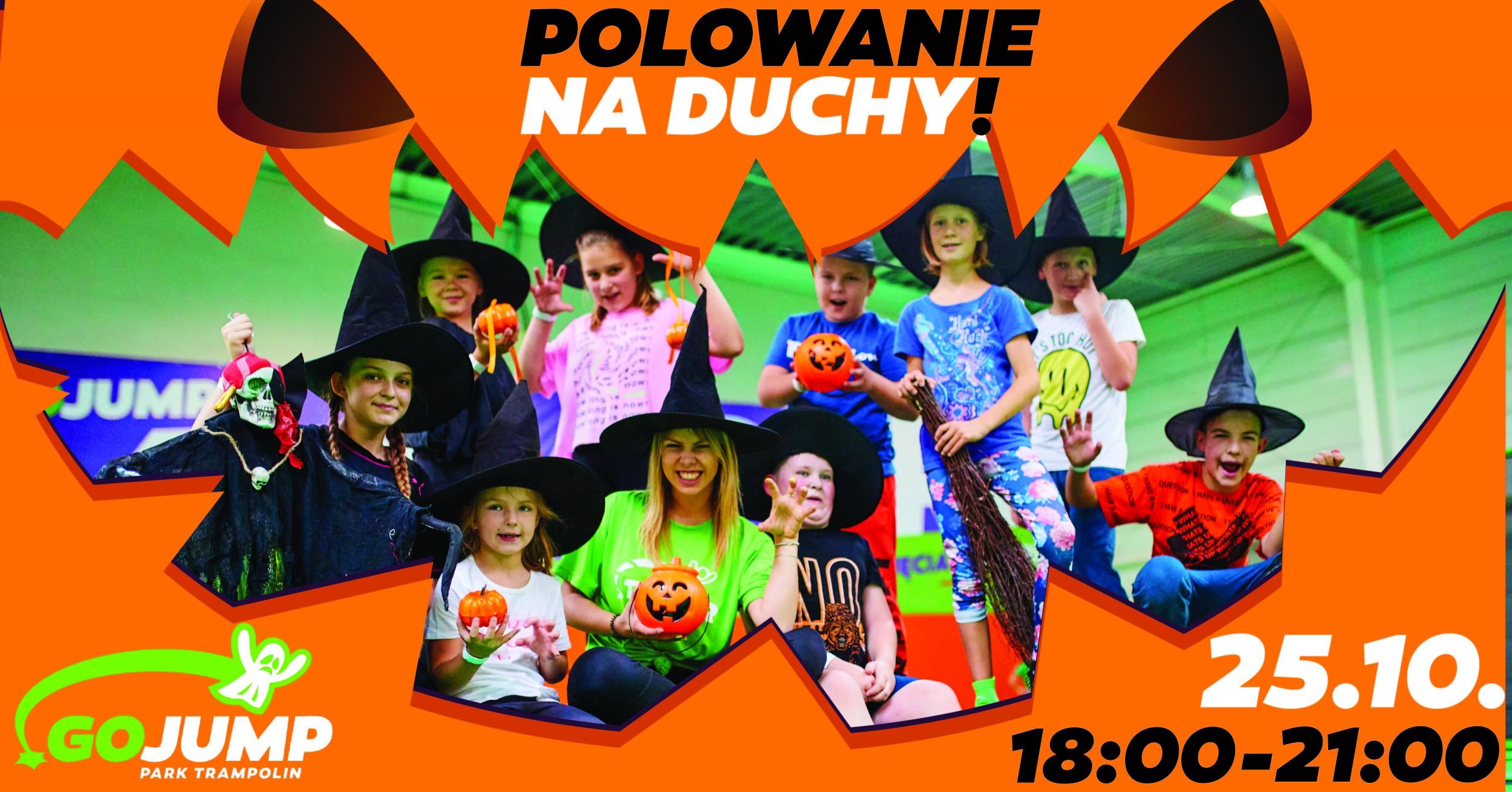 Halloween Party w GOjump Wrocław