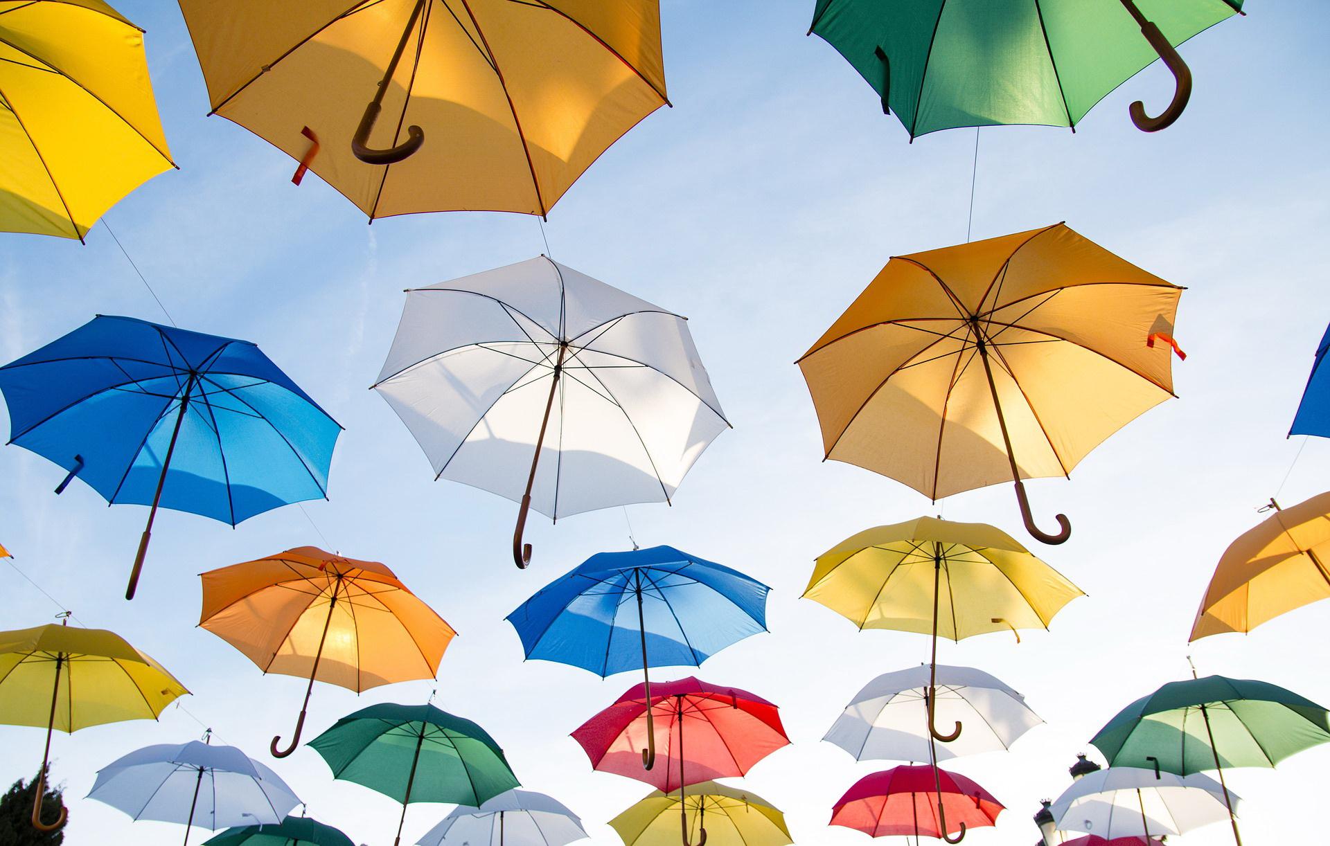 Parasol zagadka edukacyjna dla dzieci