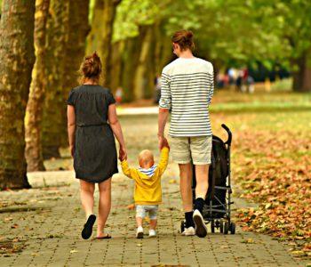 Rodzina na spacerze