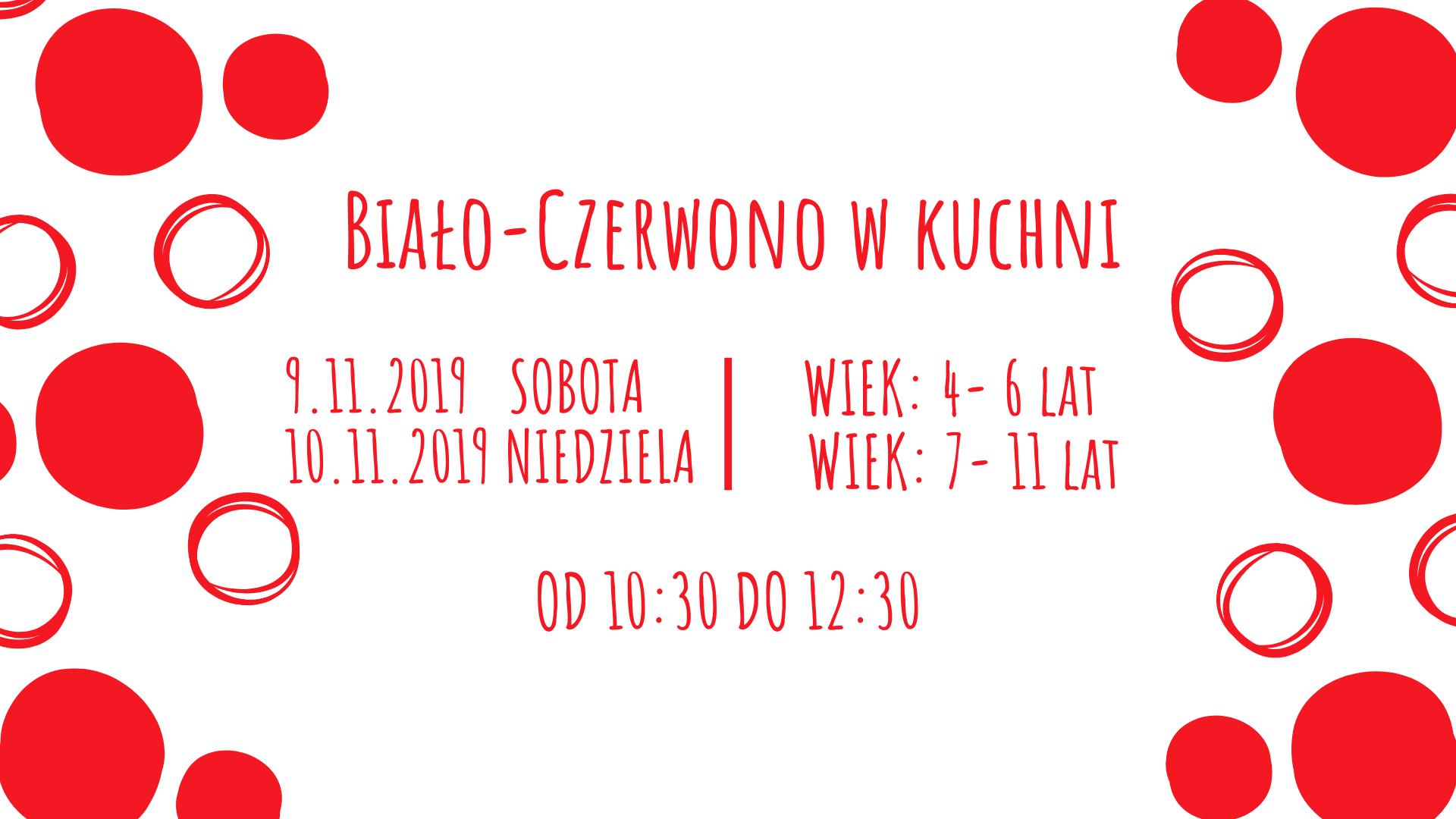 Biało-Czerwono w kuchni - warsztaty kulinarne. Katowice
