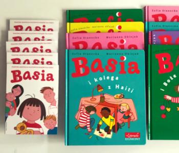 Do wygrania 10 książek oraz 30 zaproszeń na film Basia3!