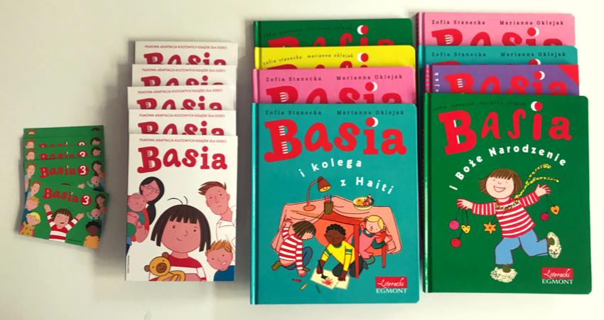 Basia 3 ksiązki i płyty DVD