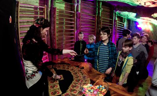 Zabawy Okolicznościowe 250 m pod ziemią - Andrzejki