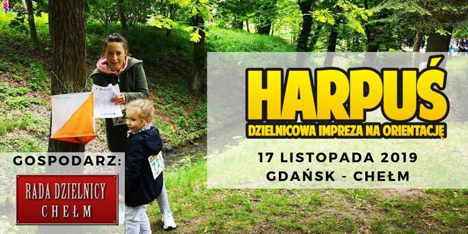 Harpuś - z mapą na Chełm