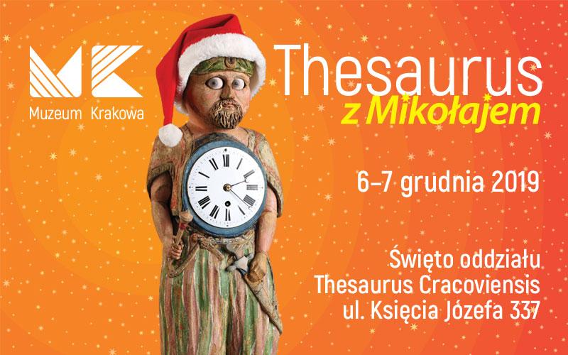 Thesaurus z Mikołajem - święto oddziału Thesaurus Cracoviensis