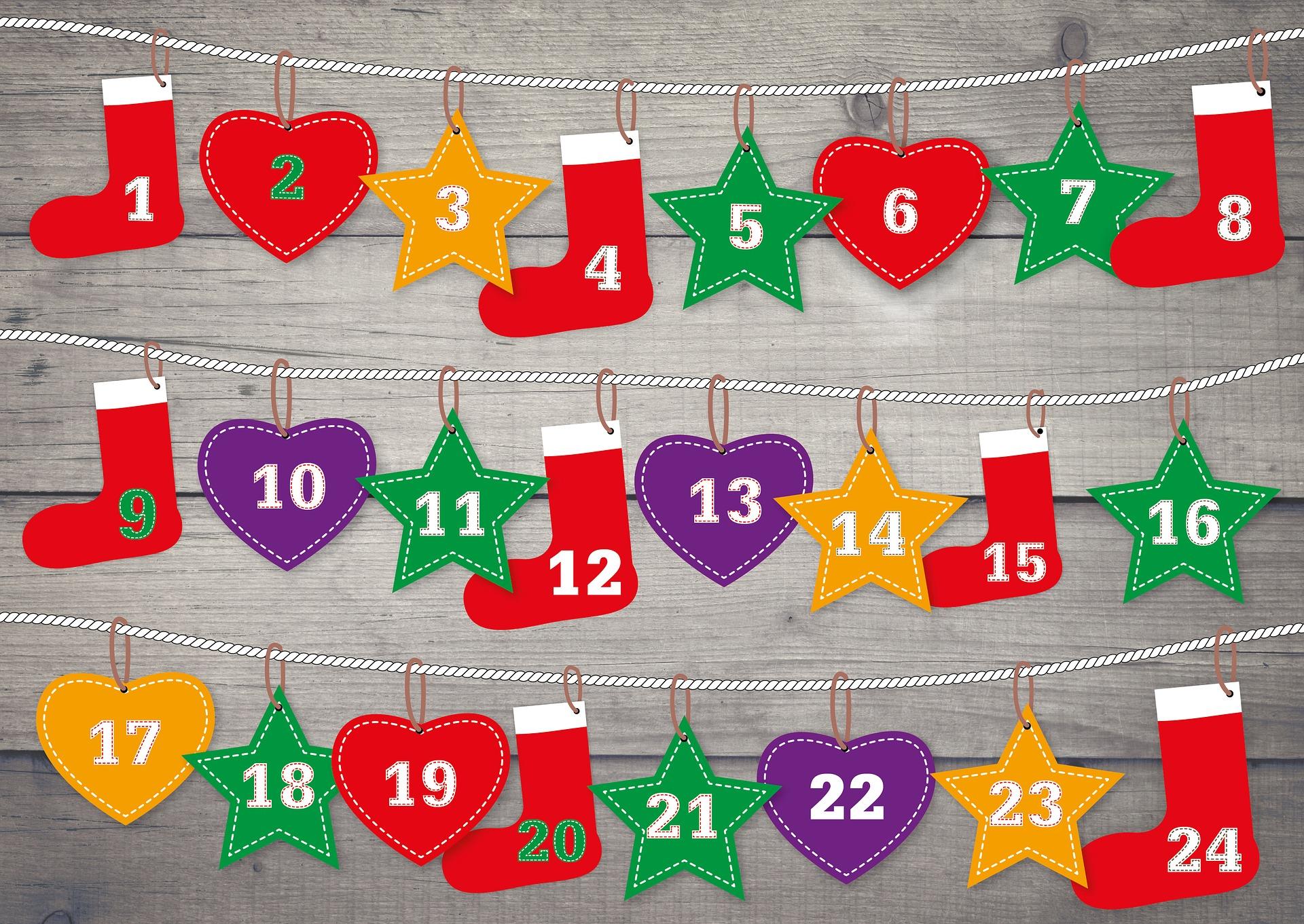 Kalendarze adwentowe - rodzinne warsztaty kreatywne