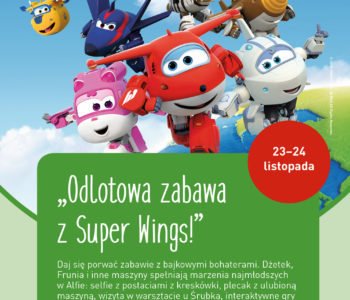Super Wings w Alfa Centrum Gdańsk