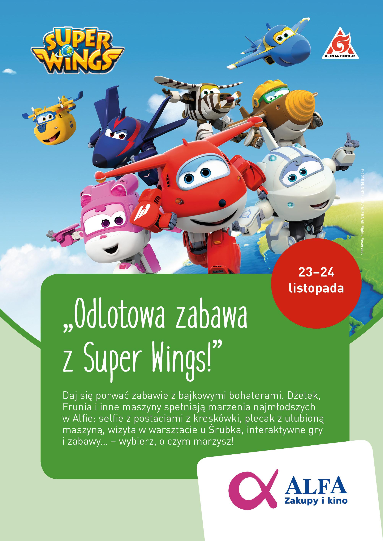 Super Wings w Alfa Centrum Gdańsk