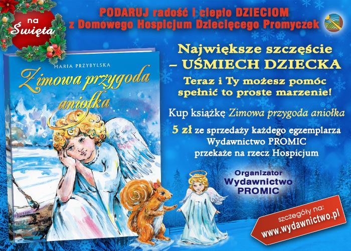 akcja charytatywna dla dzieci Wydawnictwo Promic