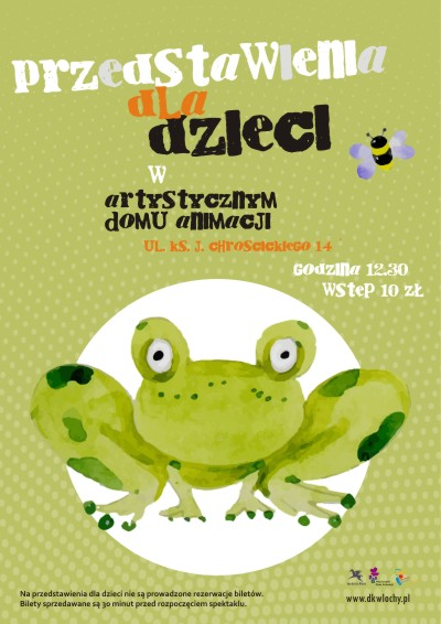 Cykl bajek dla dzieci w Artystycznym Domu Animacji
