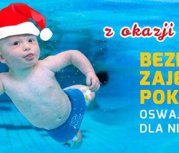 Bezpłatne zajęcia pokazowe pływania niemowląt