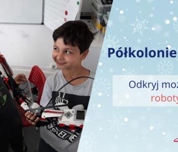 Półkolonie zimowe z Planetą Robotów w Gdańsku