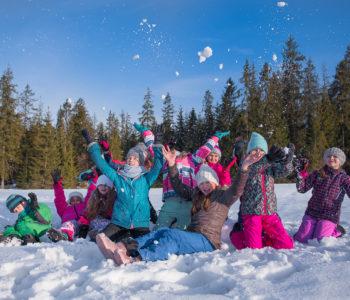 Combo zimowiska 7-12 lat w Tatrach