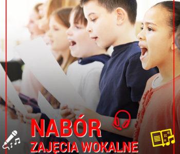 Nabór na zajęcia wokalne w Akademii Młodych Talentów