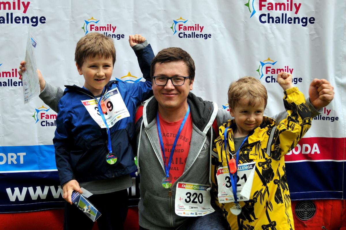 Mikołajki z Family Challenge