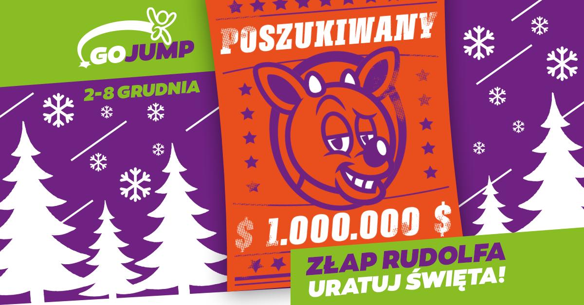 Złap Rudolfa i uratuj święta! Tydzień Mikołajkowy w GOjump
