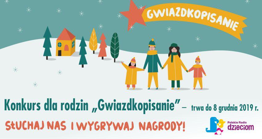 Gwiazdkopisanie – świąteczny konkurs Polskiego Radia Dzieciom