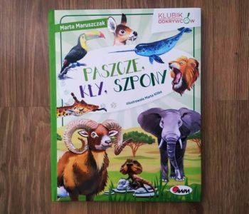 Paszcze, kły, szpony. Recenzja książki dla dzieci