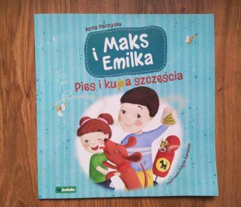 Maks i Emilka. Pies i kupa szczęścia. Recenzja książki