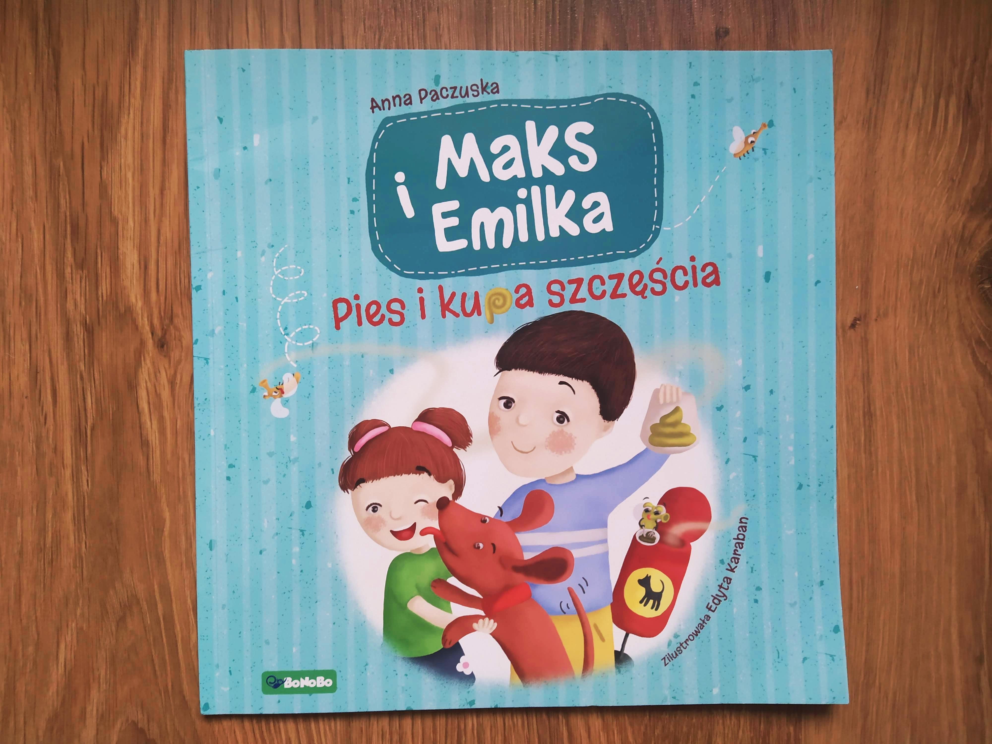Maks i Emilka. Pies i kupa szczęścia. opinie o książce dla dzieci