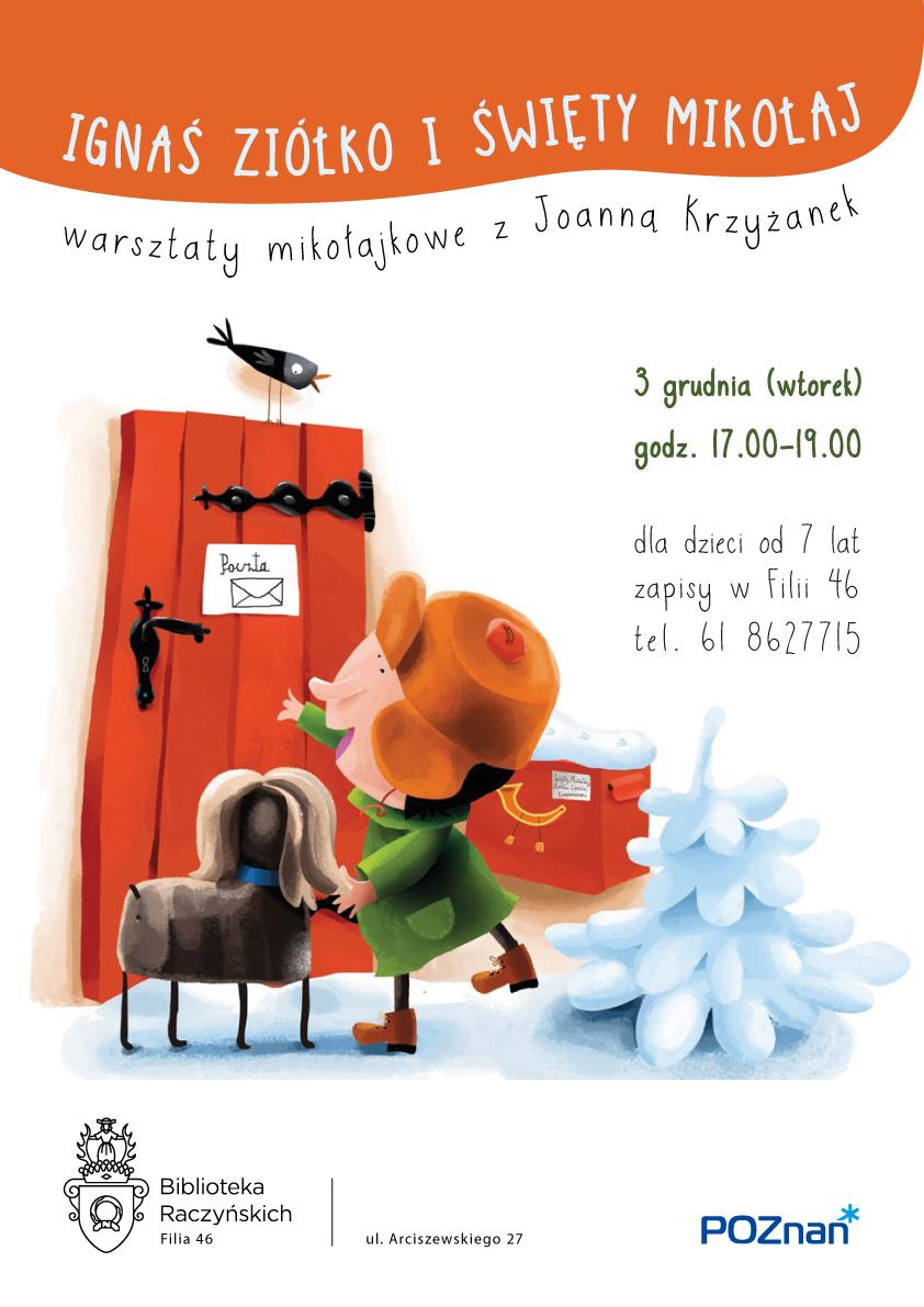 Ignaś Ziółko i Święty Mikołaj – warsztaty