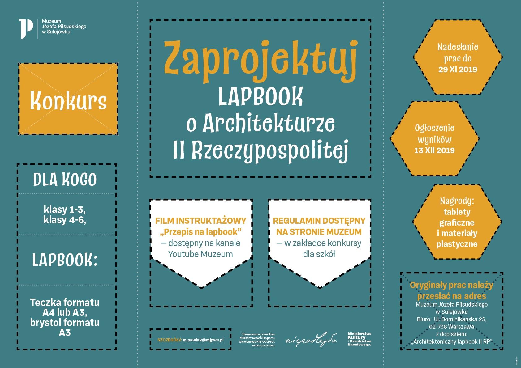 Zaprojektuj Lapbook o Architekturze II Rzeczypospolitej