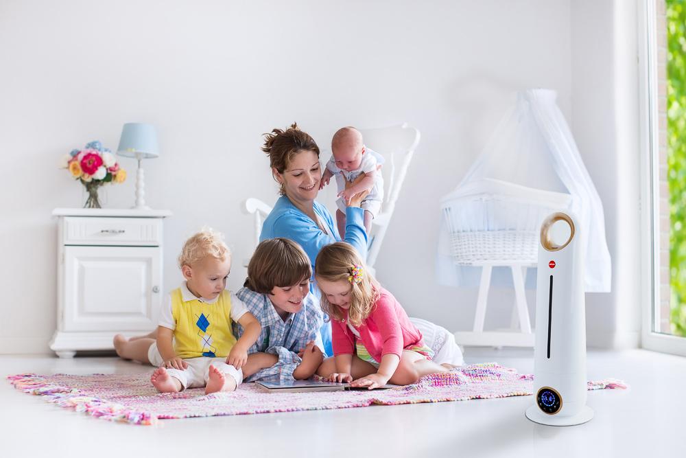 Nawilżacz powietrza – dlaczego warto umieścić go w pokoju dziecka?