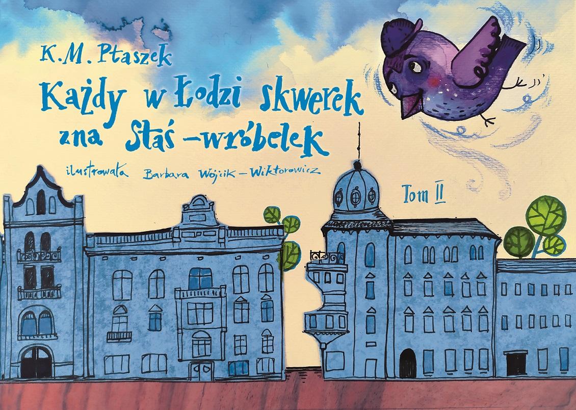 Książka dla dzieci o historii Łodzi i gra terenowa w telefonie