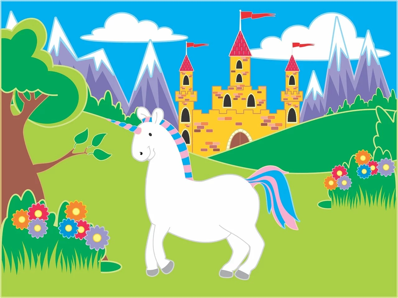 Uratuj jednorożca - multisensoryczny angielski dla 1-5 latków